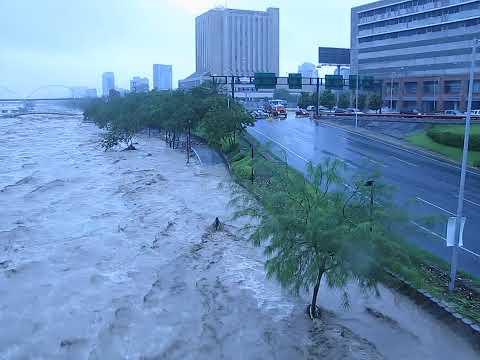Huracán Alex, Monterrey 1 julio 2010