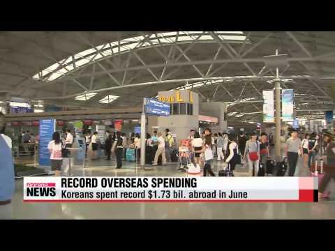 Overseas travel spending hits new high despite domestic economic slump