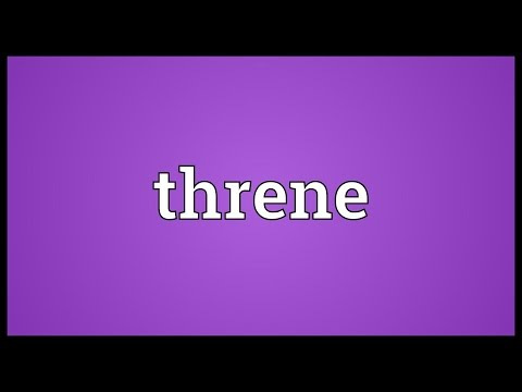 Header of threne