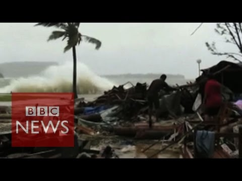 Vanuatu: Dozens reported killed in cyclone - BBC News