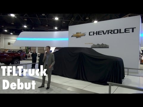 Watch the 2015 Heavy Duty Chevy Silverado High Country Debut in Denver