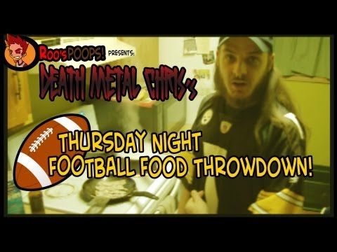 Thursday Night Football Food Throwdown! Ep001 - Chili, Mac 'n Cheese Dogs