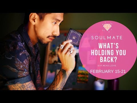 """AQUARIUS SOULMATE """"WHAT'S HOLDING YOU BACK?"""" FEBRUARY WEEKLY 15 21 TAROT READING"""