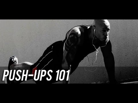 32 Different Push-up Variations - Ultimate Push-up Video