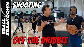 Secrets To Shooting The Basketball Off The Dribble