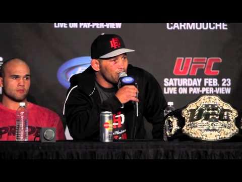Dan Henderson UFC 157 PostFight Press Conference