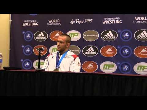 Kyle Snyder Press Conference After Winning 2015 World Championships