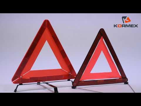 Trójkąt ostrzegawczy KORMEX/ Trójkąt Kormex Premium