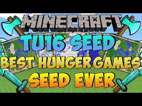 Minecraft Seed Showcase (Xbox ONE/PS4) - TU16 SEED - BEST HUNGER GAMES SEED EVER