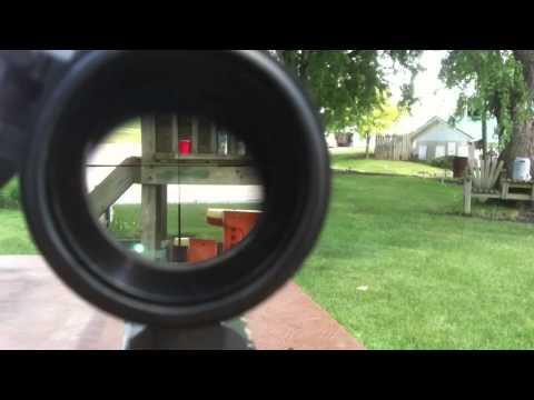 Utg l96 airsoft sniper accuracy test