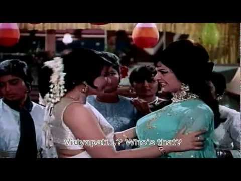 Kehna Hai (Eng Sub) Full Video Song (HD) With Lyrics - Padosan...