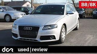 Buying a used Audi A4 (B8) - 2008-2015, Buying advice with Common Issues