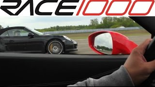 Ferrari 458 Italia vs. Porsche 991 Turbo S (60-300km/h)