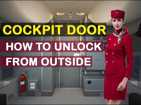 airbus cockpit access video