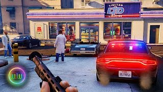 GTA 5: LSPDFR Patrol - Gas Station Robbery Goes Wrong!