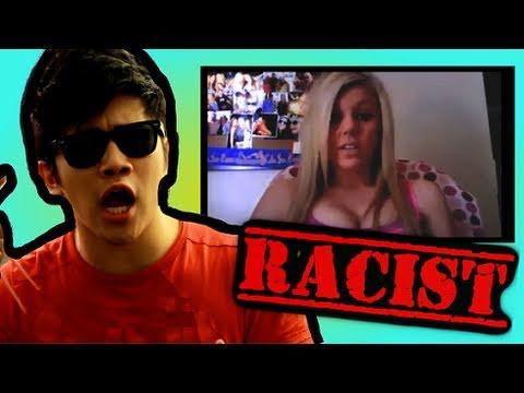 Chinese Guy VS RACIST UCLA GIRL!