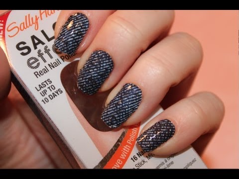 Nail Effect Tutorial Effects Nail Polish Strips