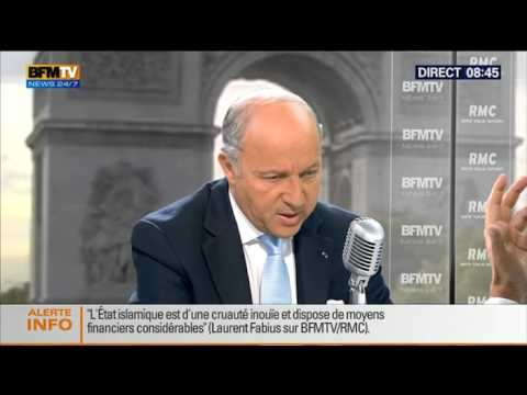 Bourdin Direct: Laurent Fabius – 22/08