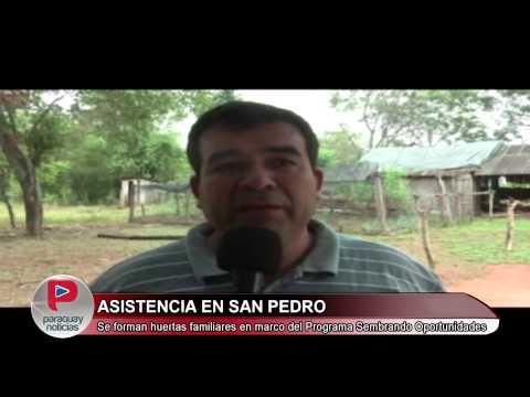 PARAGUAY NOTICIAS - SAN PEDRO - SEMBRANDO OPORTUNIDADES