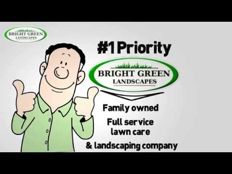 Lawn Care & Landscaping Services - Elgin, IL - Bright Green Landscapes Inc.