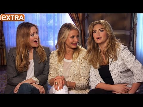How Cameron Diaz, Leslie Mann and Kate Upton Would Deal with a Cheater in Real Life