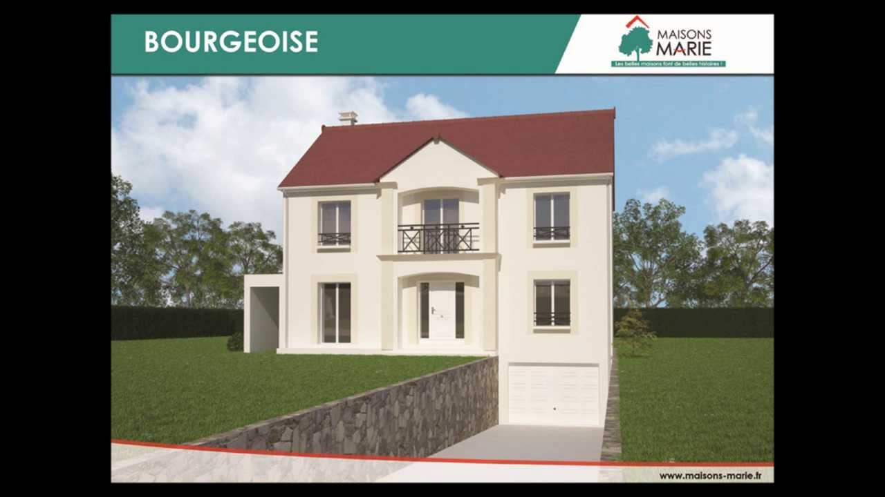plan gratuit maison traditionnelle r 1 6 pi ces 150m2 garage en sous sol youtube