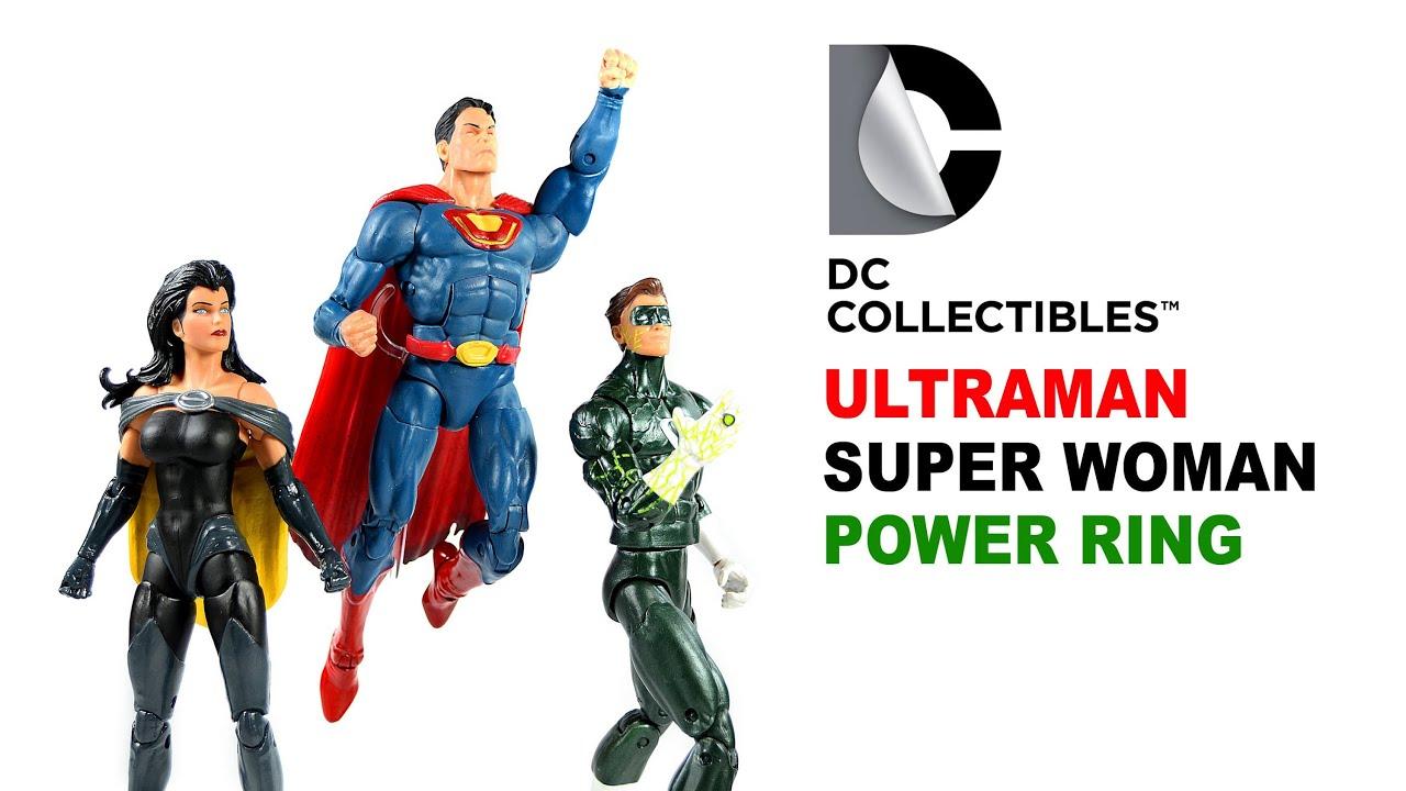dc collectibles ultraman superwoman power ring crime