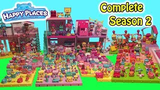 Shopkins Happy Places COMPLETE SEASON 2 All Lil' Shoppies & Petkins From Season 2 Over 430 Petkins!!