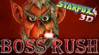 Star Fox 64 3D - Boss Rush (Expert Mode)