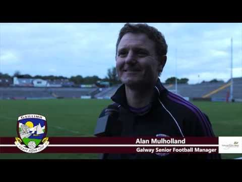Interview with Alan Mulholland after Training (05/06/2012)