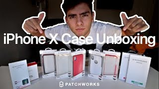 iPhone X Case Unboxing! ( 5.4m drop protection )