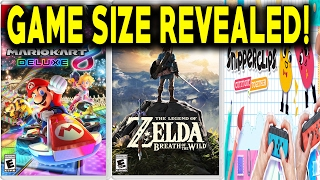 SWITCH GAME DOWNLOAD SIZES REVEALED!