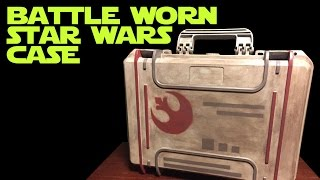 DIY Star Wars X-Wing Miniature Rebels Case - How I did It