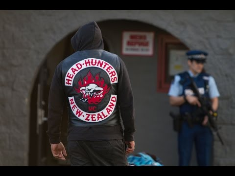 Breaking News: Head Hunters HQ Raided, Auckland