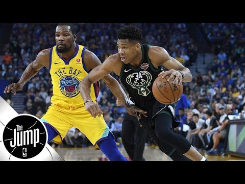 Should Durant, Giannis be tied for 4th on ESPN's NBArank top 10 list?   The Jump   ESPN