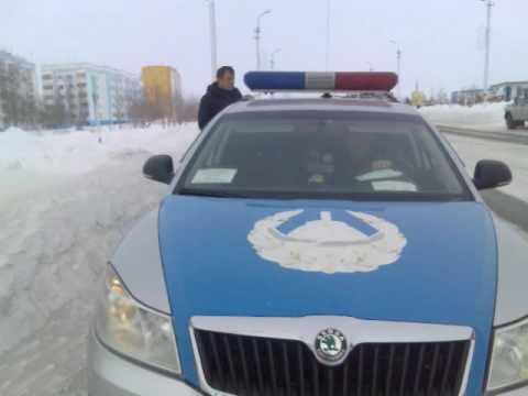 Запуганные полицейские Костаная в Рудном