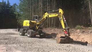 Wacker Neuson EW100 #Wheeled #Excavator