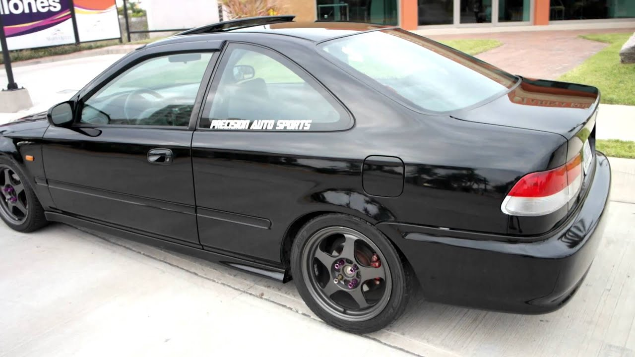 vendo honda civic si em1 2000 swap b18c1 gsr   youtube