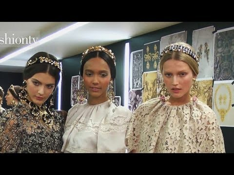 Dolce & Gabbana Fall/Winter 2012-13 Backstage & Show ft Pat McGrath & Bianca Balti | FashionTV