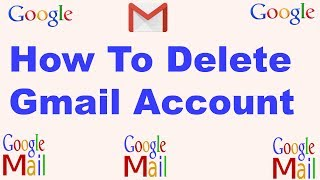 How To Delete Gmail Account Full Bangla Tutorial