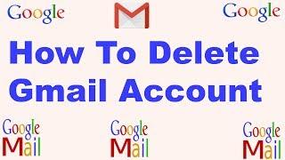 How To Delete Gmail Account  Bangla Tutorial