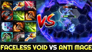 RAMZES Full Slotted Faceless Void vs CANCEL Full Slotted Anti Mage - Very Intense Game 7.26 Dota 2