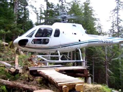 Flying Coastal Alaska by helicopter, Prince of Wales Island