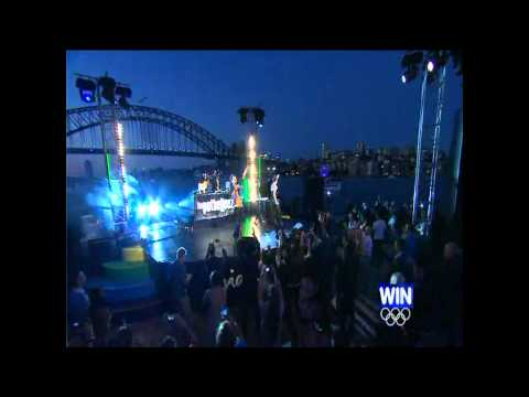 "Sydney NYE2011 - 'Time To Dream'  - ""Midnight Midnight/Feed Off Me"""