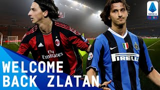 Zlatan Ibrahimović | Best Serie A Moments | Serie A TIM