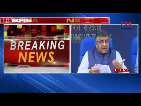 IT Minister Ravi Shankar Prasad On On Bill To Set Up Commerical Courts | CVR NEWS