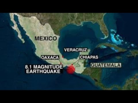 Death toll rises after powerful 8.1 quake strikes Mexico