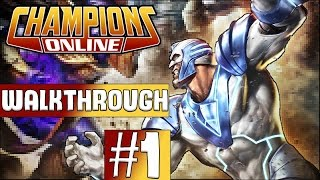 Champions Online Walkthrough 2017 - Episode 1 - Character Creation!