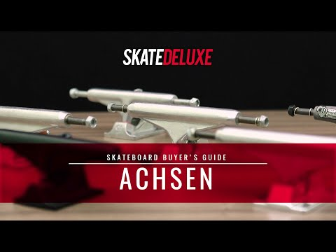 Skateboard Achsen | skatedeluxe Buyer's Guide [Deutsch/German]
