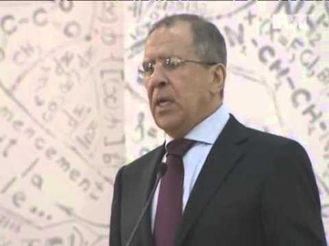 April 4, 2012 Azerbaijan_Lavrov says 'Friends of Syria' group undermines peace efforts